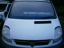 white bonnet vauxhall vivaro renault trafic traffic 01 to 14 van primastar
