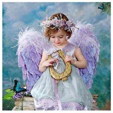 5D DIY Diamond Embroidery Painting Wall Girl Angel Cross Stitch Craft Home Decor