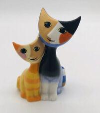 Goebel Serafino & Serafina by Rosina Wachtmeister Duo Cats Miniature Signed