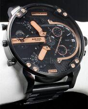 orologio DIESEL DZ7312 Mr DADDY 2.0  Cronografo Grigio Rosè Nero ORIGINALE ✔️