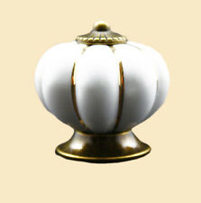 Draw Pull Handle Cupboard Drawers Ceramic Knobs Pumpkin Cabinet Knob Classical