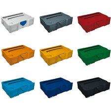TANOS Systainer T-Loc SYS TL 1 Grau Anthrazit Rot Orange Gelb Grün Blau Schwarz
