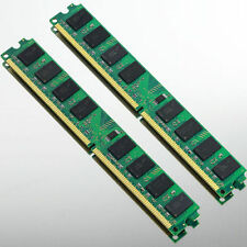 High Density 4GB 2x2GB PC2-6400 DDR2 800 800MHZ 240Pin Desktop Memory DIMM RAM