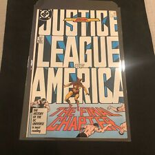 Justice League of America Jla #14 Key Final Issue! Rare High Grade! No Reserve