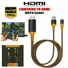 Lightning to HDMI Digital TV AV Adapter Cable For Apple iPad iPhone 5 6 7 8 X XS