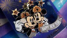Disneyland Disney Happy New Year 2020 Pin LE 2500 Mickey Minnie Selfie