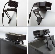 BLACK TV Clip Mount Supporto per sensore Kinect 2.0 Xbox Gioco movimento One