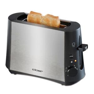 Cloer Toaster 3890 Mini Single Toaster schwarz für 1 Toastscheibe  NEU