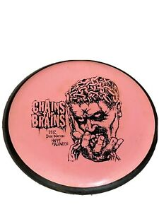 GYRO Anode MVP Golf Disc Golf Chains For Brains 2012 Nation Halloween Rare