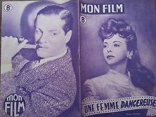 "MON FILM 1947 N 68 "" UNE FEMME DANGEREUSE "" avec IDA LUPINO et GEORGE RAFT"
