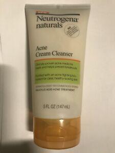 Neutrogena Naturals Acne Cream Cleanser  New & Hard to find