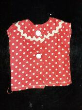 Antique Vintage Vogue Jill & Jan Fashion Red Polka Dot PajamaTop