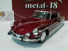 "Metal - 18 18001b-Citroen DS 19 chapron le dandy 1964 ""burdeos metalizado"" 1:18"