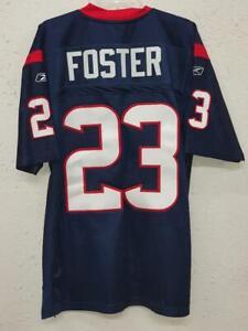 Reebok Authentic NFL Jersey Houston Texans Arian Foster Navy sz 48