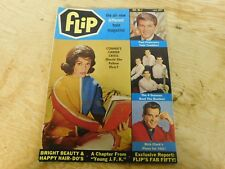 Flip Teen Magazine Issue 2 Nov 1964 Connie Francis 4 Seasons Dick Clark JFK