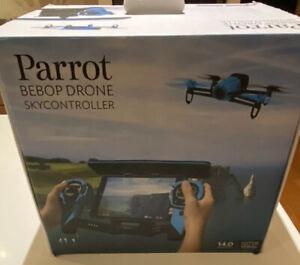 Parrot Drone Bebop Quadcopter Skycontroller Bundle Blue PF725141