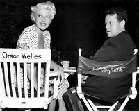 Orson Wells and Rita Hayworth Art Retro Vintage Old Photo Glossy 10*8 inch A073