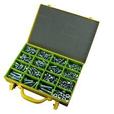 UNF Hex Bolt & Nut Assortment Kit - Grades 5 & 8 - Zinc Plated - 420 Piece