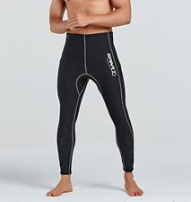 Adults Men 3mm Neoprene Diving Suits Scuba Snorkeling Free Dive Warm Long Pants