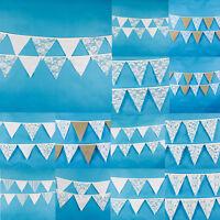 Wimpelkette Wimpelgirlande Weiß Spitze Party Hochzeit Deko Girlande Romantik
