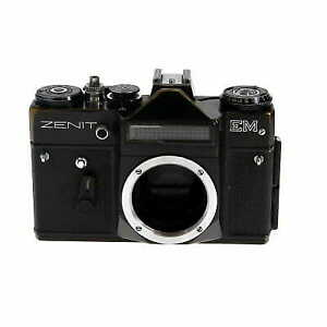 KMZ Zenit EM 35mm Film Camera Body, Black M42 Mount (Film Cameras) - (BG)