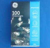GE String Lights Clear 100 Count X4 Party Wedding Deck Camping Patio Pier