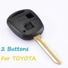 Nuevo 2 botón remoto CLAVE FOB CASO, Toyota RAV4 Land Cruiser Corolla Yaris Corolla