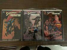 SUPERMAN VS PREDATOR, #1-3 All Formats, DC & DARK HORSE comics