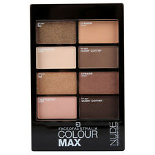 Face Of Australia - NUDE - Colour MAX Eyeshadow Palette - Gold Bronze Brown