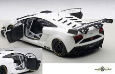 Lamborghini Gallardo GT3 FL2 2013 White 1:18 AUTOart