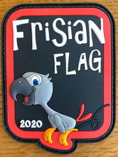 Frisian Flag 2020 Patch PVC 322 squadron Royal Netherlands Air Force RNLAF