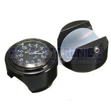 Motorcycle Bike Handlebar Mount Dial Clock Watch 7/8inch 1inch Universal for Har