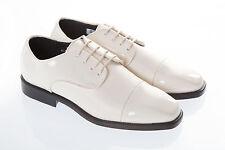 Marfil Crema Zapatos de Charol Boda Vestido