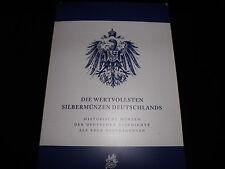 Die Wertvollsten Silbermünzen Deutschlands +Mappe- 12x  (Sammlung 2)  (S1