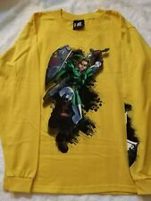 Legend of Zelda Ocarina of Time Link Long sleeve T-Shirt