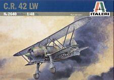 Italeri 1/48 C.R. 42 LW Luftwaffe Night Fighter WWII Biplane Model Kit 2640