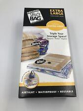 NOS Original Space Bag Vacuum-Seal Storage Pack Large 2 Pack - 2 XL Bags