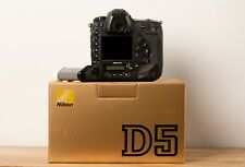 NIKON D5 Digital Camera Body Dual XQD Slots