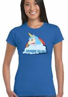 Come Worn By The Rock Central Intelligence Film Donna Unicorn T-Shirt Film