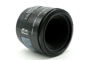 Minolta 50mm f/2.8 Macro Close-up Auto Focus A-Mount FX SLR DSLR AF Prime Lens