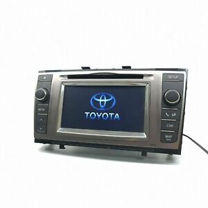 TOYOTA AVENSIS Radio Stereo CD player Head Unit Touch Screen 86140-05040