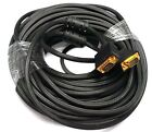 50 FEET FT FOOT SVGA VGA M/M LCD LED Monitor GOLD Cable 50FT Male to Male -NEW