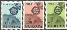 Portugal 1967 1007-09 ** Europa