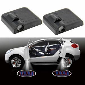 2x Car Door WirelessShadow Laser LED Projector LogoLight for New York Giants NEW