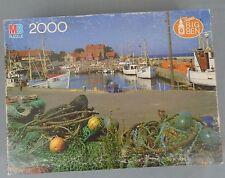 Milton Bradley Super Big Ben Jigsaw Puzzle Bornholm Denmark 2000 Pieces Unopened