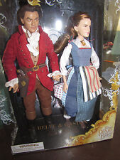 New Beauty And The Beast Film Collection Doll Set Belle And Gaston Live Action