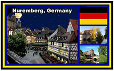 NUREMBERG, GERMANY - SOUVENIR FRIDGE MAGNET -  BRAND NEW - GIFT