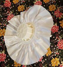 """Set Darice Wedding Bridal Flower Bouquet Handle Holder & White Satin Collar 11"""""""