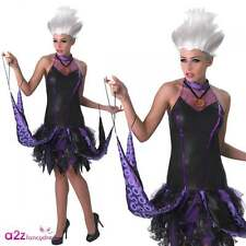 DISNEY Little Mermaid Sassy Ursula Adult Licensed Fancy Dress Costume Halloween
