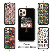 Avengers Marvel case for iphone 11 12 XR Pro SE Max X XS 8 plus 7 6 TPU cover SN